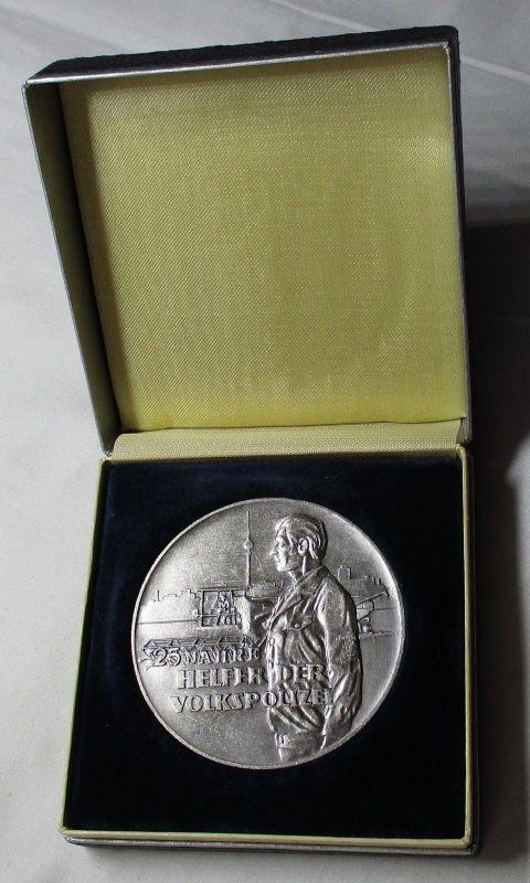 DDR Medaille Freiwilliger Helfer der deutschen Volkspolizei im Etui (118715)