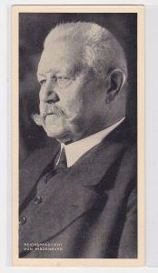78889 Trumpf Schokoladenfabriken Berlin Karte Reichspräsident von Hindenburg