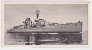 91255 Trumpf Schokoladenfabriken Berlin Karte Panzerschiff