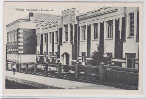 04750 Ak Valga Estland Tütarlaste Gümnasium um 1940