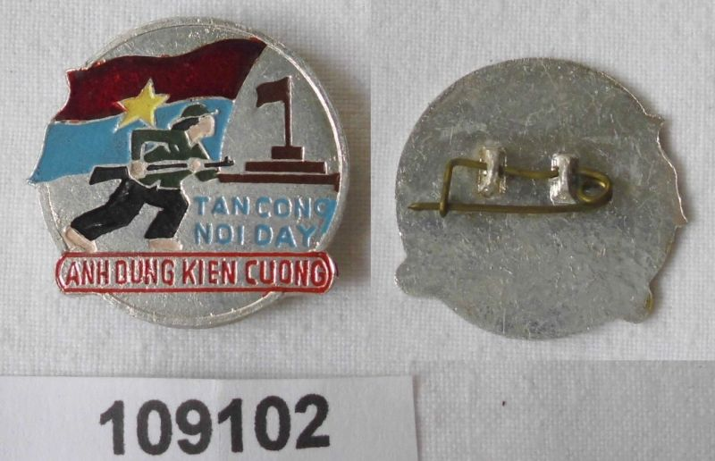 Altes Abzeichen Korea Tan Cong Noi Day Anh Dung Kien Cuong (109102)