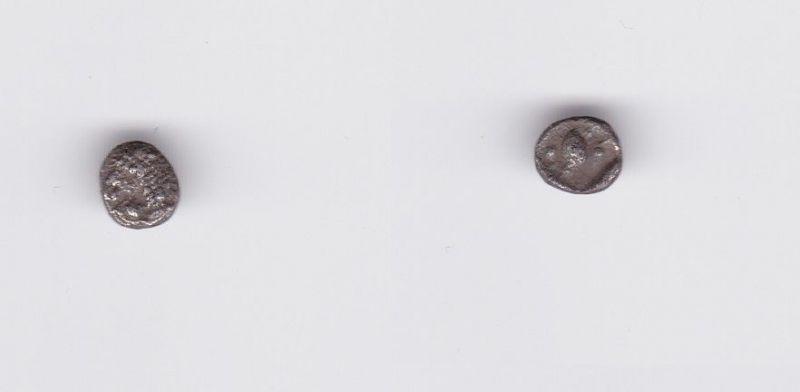 Antike griechische Münze Karien Mylasa Tetartemorion ca. 420-390 v.Chr. (127284)