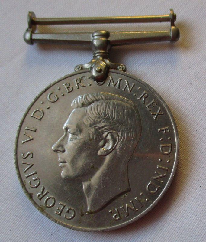 Verteidigungsmedaille Georg VI Defence Medal 1939-1945 Großbritannien (126036)
