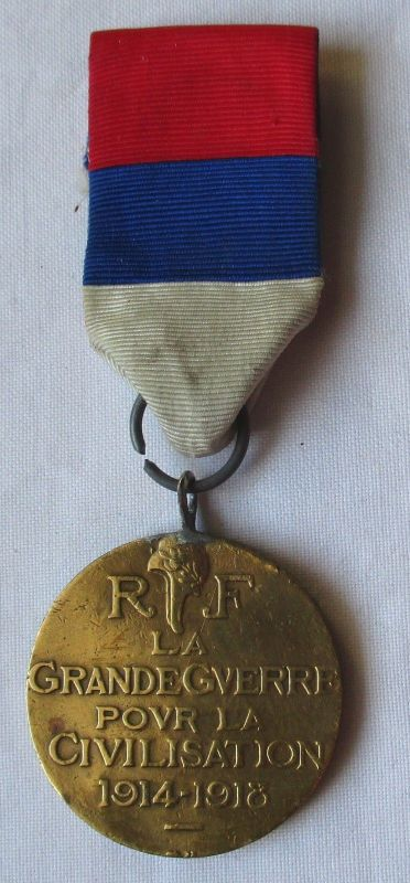 Seltener Orden der große Krieg für die Zivilisation 1914-1918 am Band (126025)