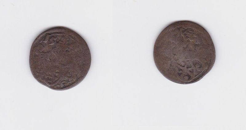 1/48 Taler Silber Münze Kurfürstentum Sachsen Friedrich August II. 1756 (127344)