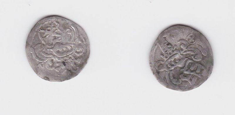 Dreier Silber Münze Kurfürstentum Sachsen Annaberg Joh. Friedrich 1544 (127358)