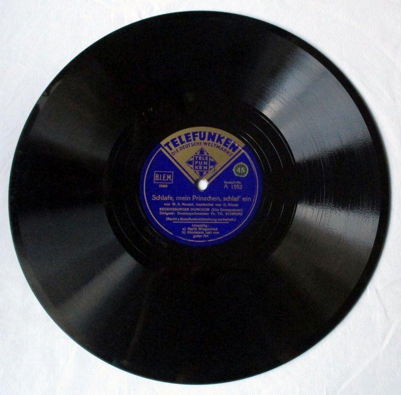 Schellackplatte Telefunken