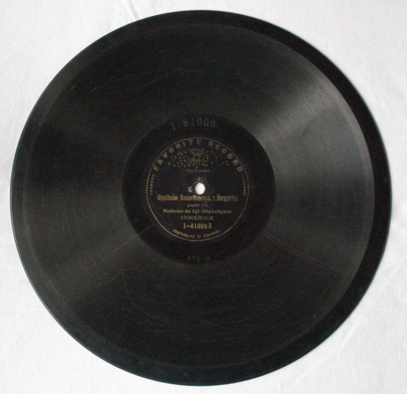 Schellackplatte Favorite Record