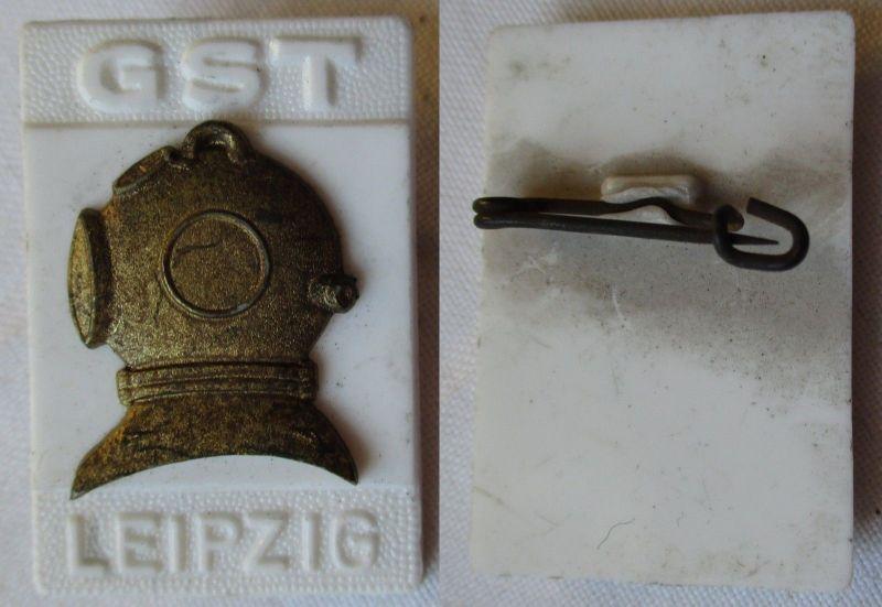 DDR Abzeichen GST Festabzeichen Bezirk Leipzig Taucher (125867)