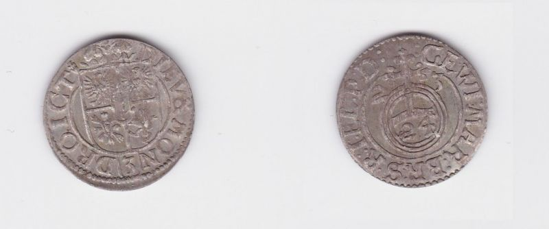 3 Pölker Silber Münze Brandenburg Preussen Königsberg 1623 (127183)