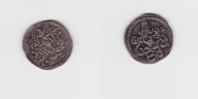 Dreier Silber Münze Kurfürstentum Sachsen Annaberg Joh. Friedrich 1540 (127360)