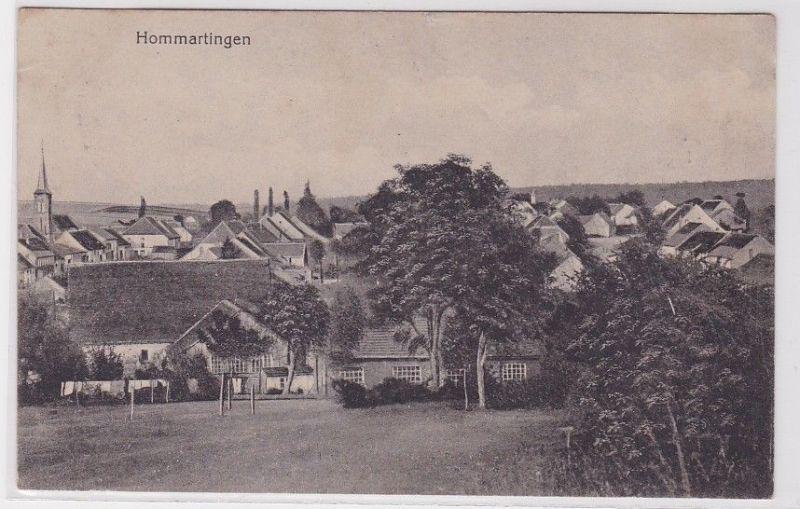 61998 Feldpost Ak Hommartingen Hommarting in Lothringen 1916
