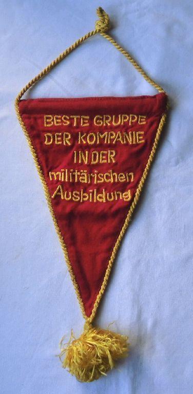 Selten Wimpel Beste Gruppe der Kompanie in der militärischen Ausbildung (101715)