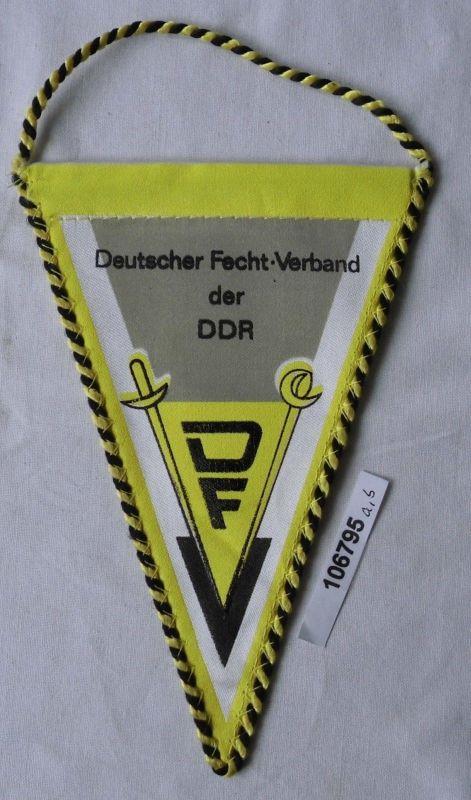 DDR Wimpel Deutscher Fechtverband (106795)