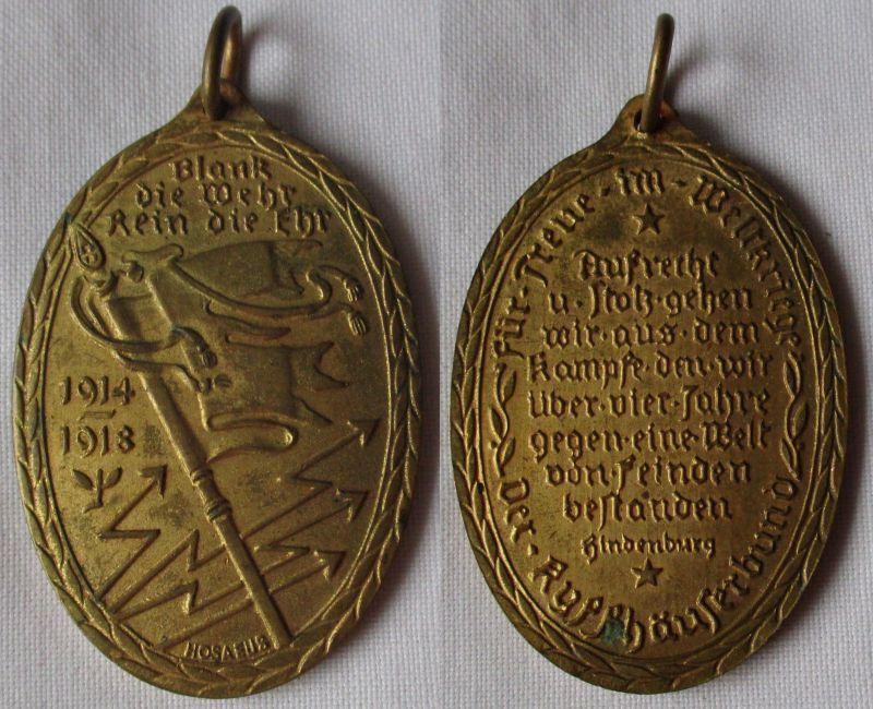 Seltene Medaille für Treue im Weltkriege der Kyffhäuserbund 1914-1918 (114039)