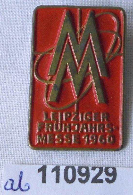 DDR Messe Abzeichen Leipziger Frühjahrsmesse 1960 (110929)