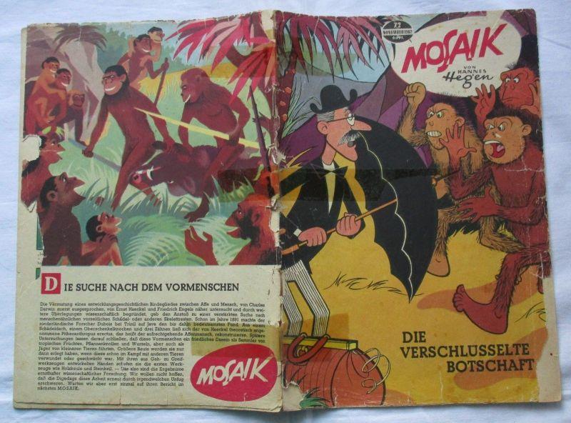 Mosaik von Hannes Hegen Digedag Nummer 72 von 1962 (113310)