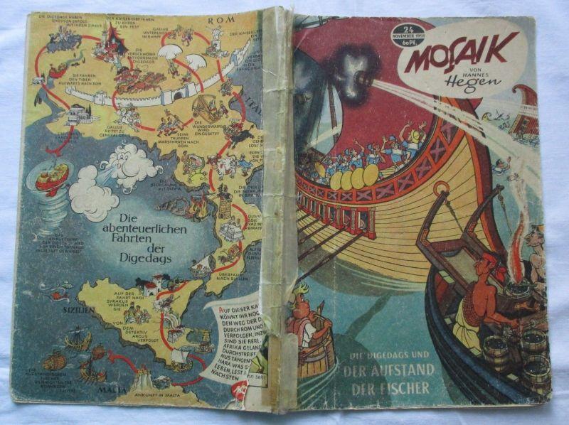 Mosaik von Hannes Hegen Digedag Nummer 24 von 1958 (112204)