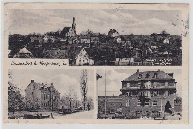 67981 Mehrbild Ak Bräunsdorf bei Oberfrohna in Sachsen um 1930