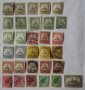 Briefmarken Deutsch Süd West Afrika Interessante Sammlung mit 31 Werten (104268)