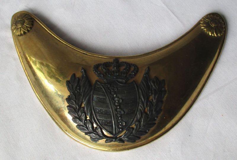 Ringkragen M 1809 für Offiziere sächsische Herzogtümer Altenburg (124670)