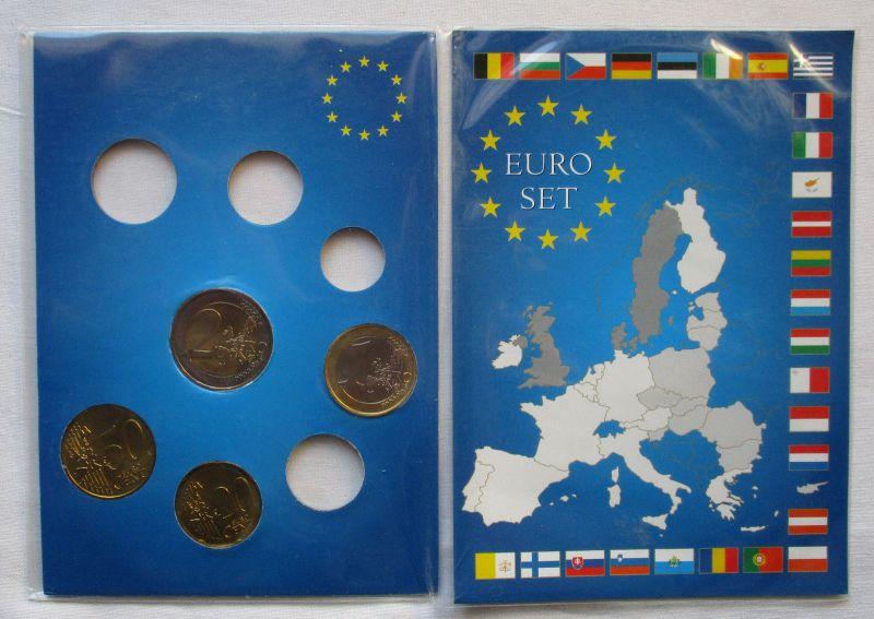 Kursmünzsatz mit 4 Münzen von 20 Cent bis 2 Euro Monaco 2003 (123575)