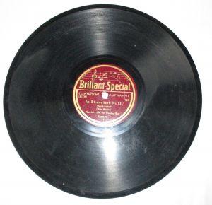 Schellackplatte Brillant-Special