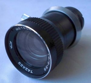 Objektiv Meteor 8M-1 1,8/9-38 für Kamera Super 8 Made in UdSSR (100026)