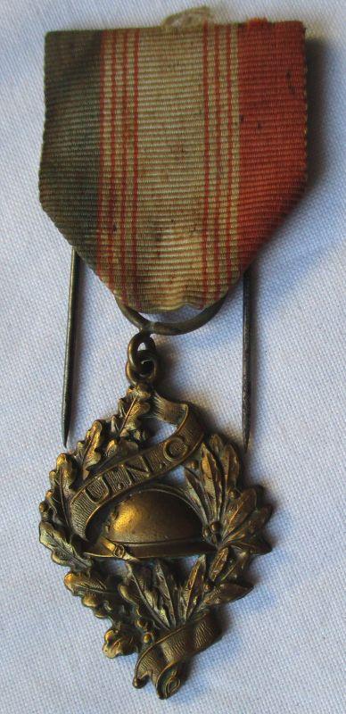 Orden Frankreich Medaille der Frontkämpfer Vereinigung U.N.C. Bronze (120261)