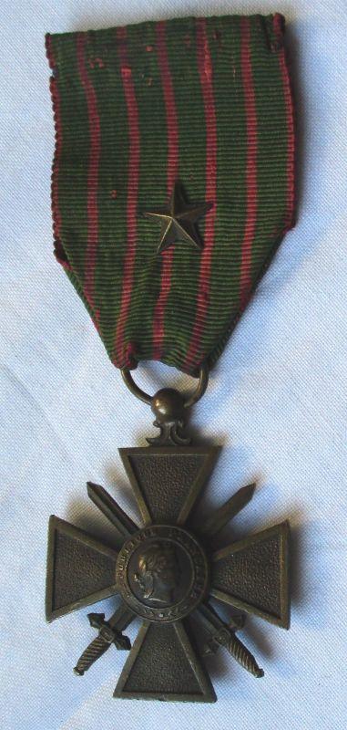 Kriegskreuz 1914 1918 Frankreich France - Kreuz - Croix de Guerre (123481)