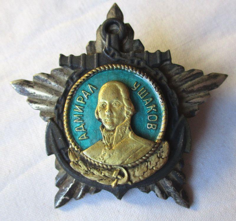 Admiral Uschakow 1.Klasse UdSSR Orden der Seekriegsflotte 1944 (120570)