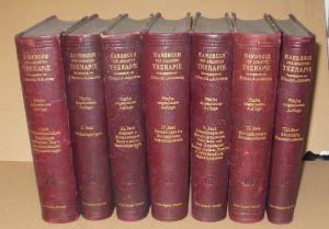 Penzoldt und Stintzing: Handbuch der gesamten Therapie, 7 Bände 1914 (Nr.15503)