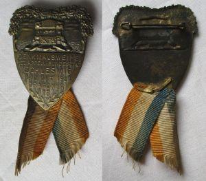 Seltenes Abzeichen Denkmalsweihe Schleswig Oktober 1927 Dragoner 13 (101311)
