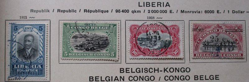 Umfangreiche Briefmarkensammlung Afrika ab etwa 1900 (117906)