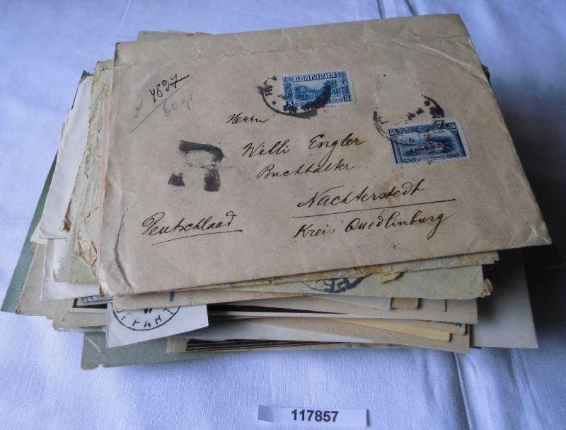 168 Briefe und Belege viel Infla und Geschäftspost bis etwa 1940 (117857)