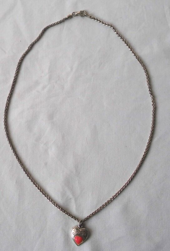 Bezaubernde Kette aus 925er Silber mit niedlichem Anhänger (117682)
