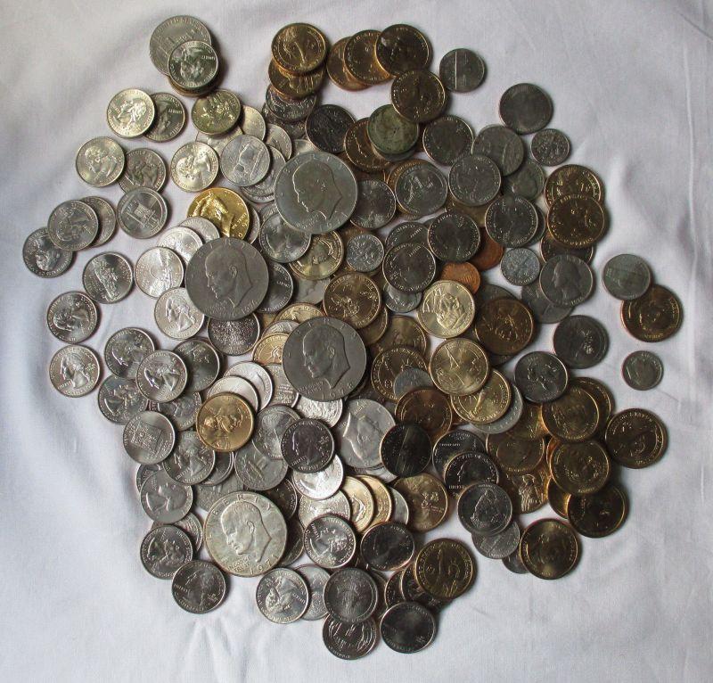 187 Kleinmünzen USA vereinigte Staaten v.Amerika 83,25 Dollar Nominale (129814)