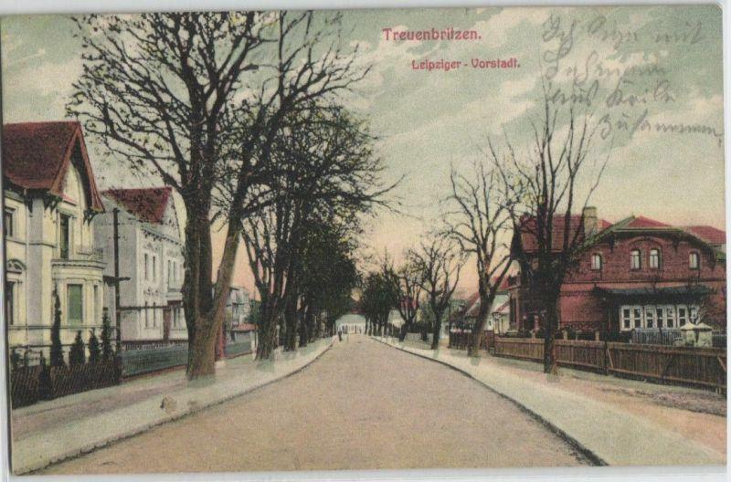 92500 Feldpost Ak Treuenbrietzen Leipziger Vorstadt 1915