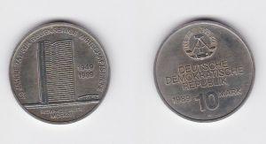 DDR Gedenkmünze 10 Mark 40 Jahre RGW Wirtschaftshilfe 1989 Stempelglanz (128898)