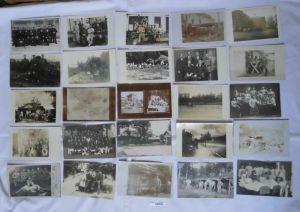 100 meist Foto Ansichtskarten Militär Soldaten 1. Weltkrieg (106804)
