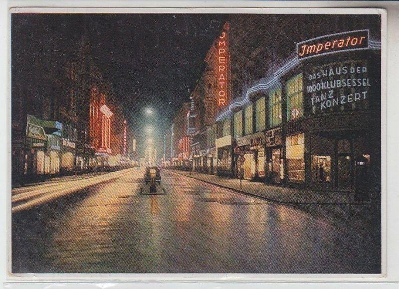 70846 Ak Berlin Friedrichstrasse in Beleuchtung mit Tanzlokal Imperator 1942