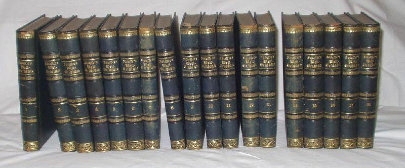 Weltgeschichte für das deutsche Volk, 18 Bände von 1870