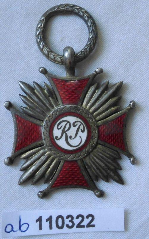Silbernes Verdienstkreuz der Republik Polen um 1930 (110322)