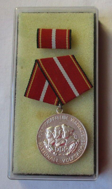 DDR Verdienstmedaille der NVA in Silber im Etui (105590)