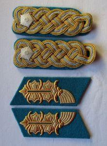 Kragenspiegel Schulterstück Generalmajor Luftstreitkräfte NVA KVP DDR (103465)