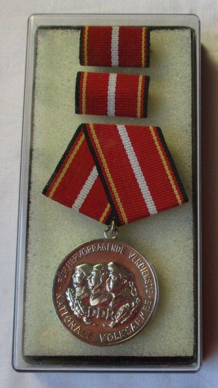 DDR Verdienstmedaille der NVA in Silber im Etui (100354)
