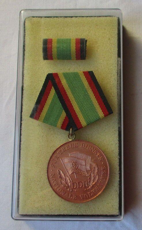 DDR Medaille NVA für treue Dienste Bronze im Etui (106246)