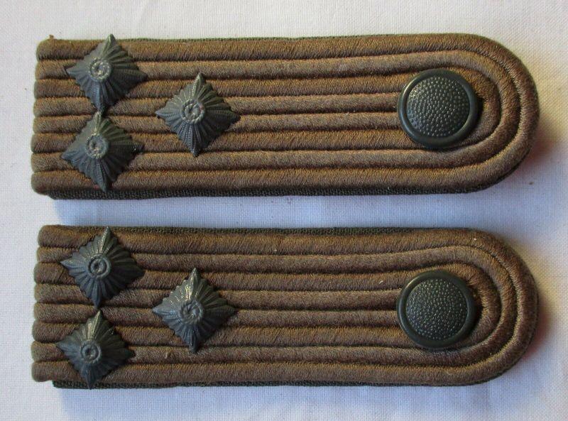 Graue Schulterstücke Oberleutnant Felddienst NVA DDR (101657)