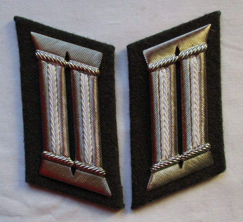 DDR Uniform NVA Kragenspiegel Pioniere Offizier (100126)
