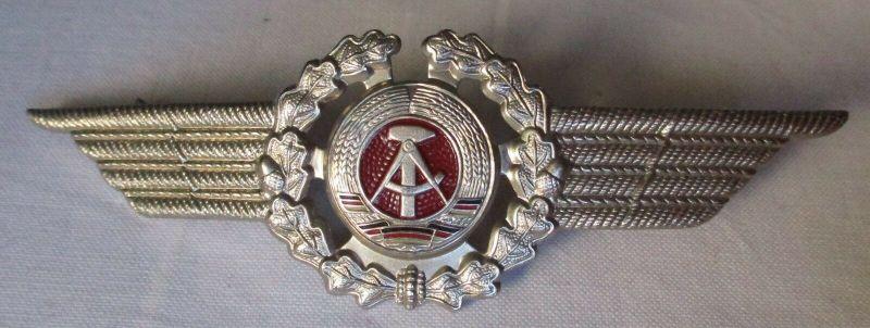 DDR Mützenabzeichen Mützenkokarde Offizier Luftstreitkräfte (101391)